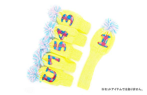 1.【Clasky】CHECKナンバー×ネオンヘッドカバー