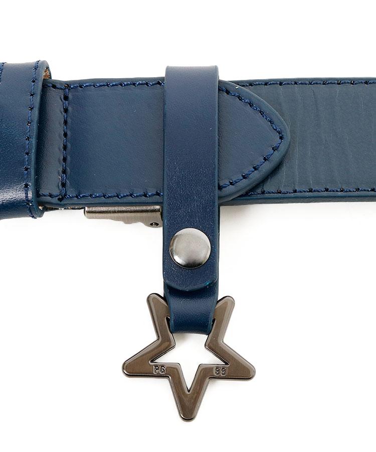 PG STARループ付★ロゴパッチワークベルトのコーディネート写真