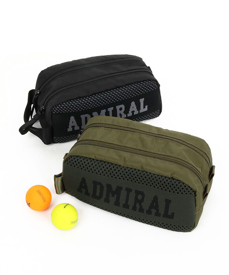 アドミラルゴルフ(Admiral GOLF) | AM 異素材◆ロゴ入り2層マルチミニカートバッグ