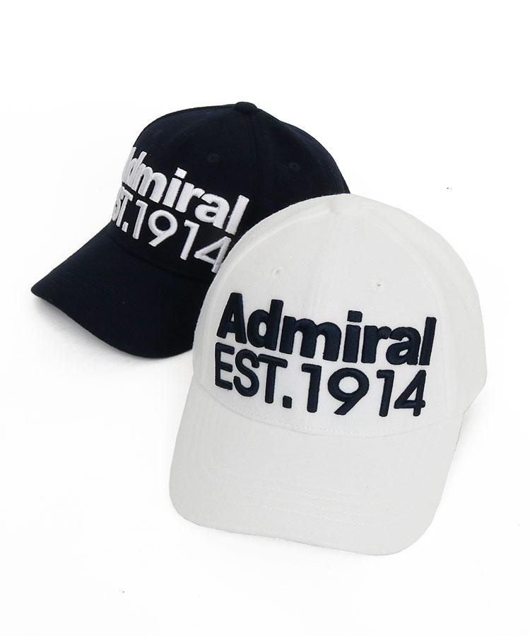 アドミラルゴルフ(Admiral GOLF) | AM パネル刺しゅう起毛キャップ