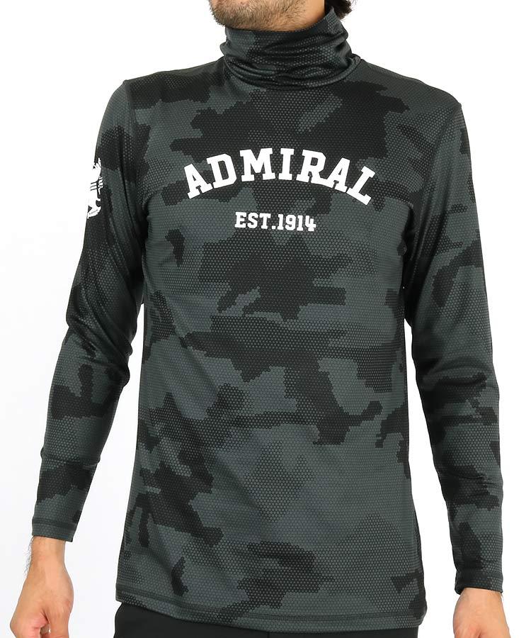 アドミラルゴルフ(Admiral GOLF) | AM ハニカムカモフラ◆ハイネックインナー