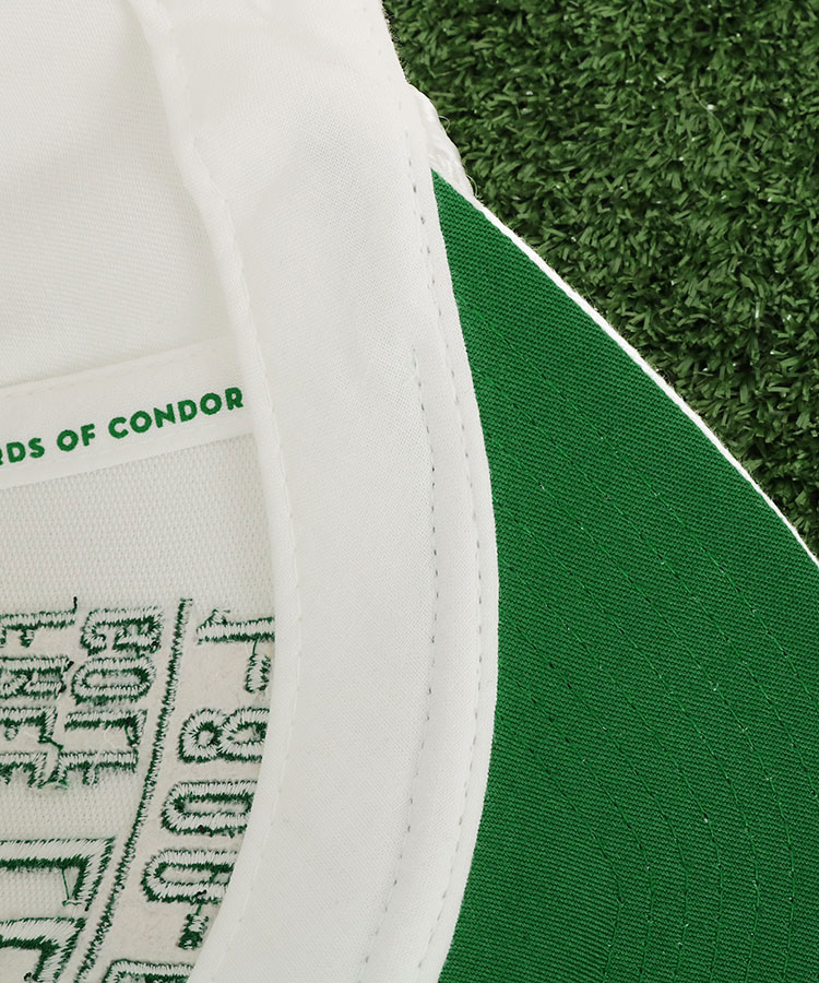 BC LESSONGSパネル刺繍キャップのコーディネート写真