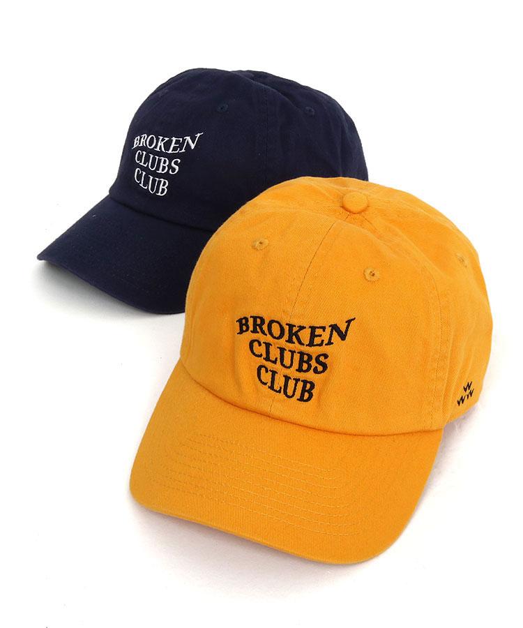 バーズオブコンドル BC BrokenClubsClub刺しゅう柔らかキャップ