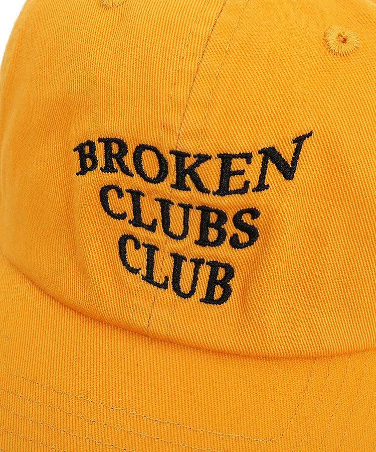 BC BrokenClubsClub刺しゅう柔らかキャップのコーディネート写真