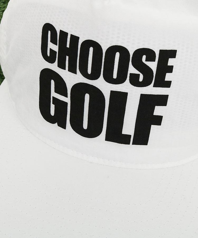 BC ChooseGolf◆平つばナイロンキャップのコーディネート写真