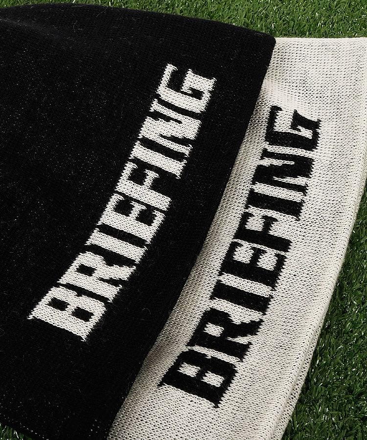 BR ロゴ&Flag入◆Basicニット帽のコーディネート写真
