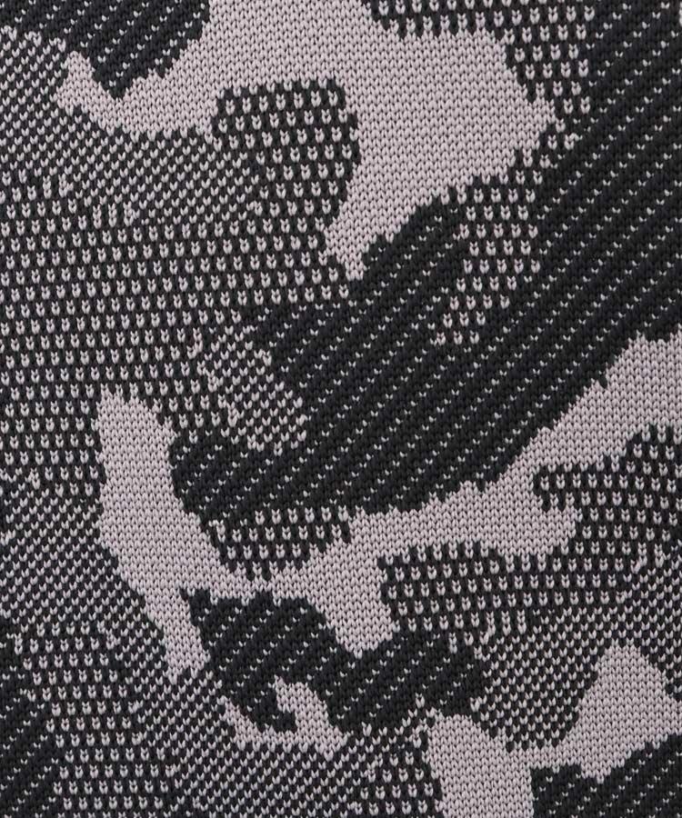 CA カモフラジャガードニットのコーディネート写真