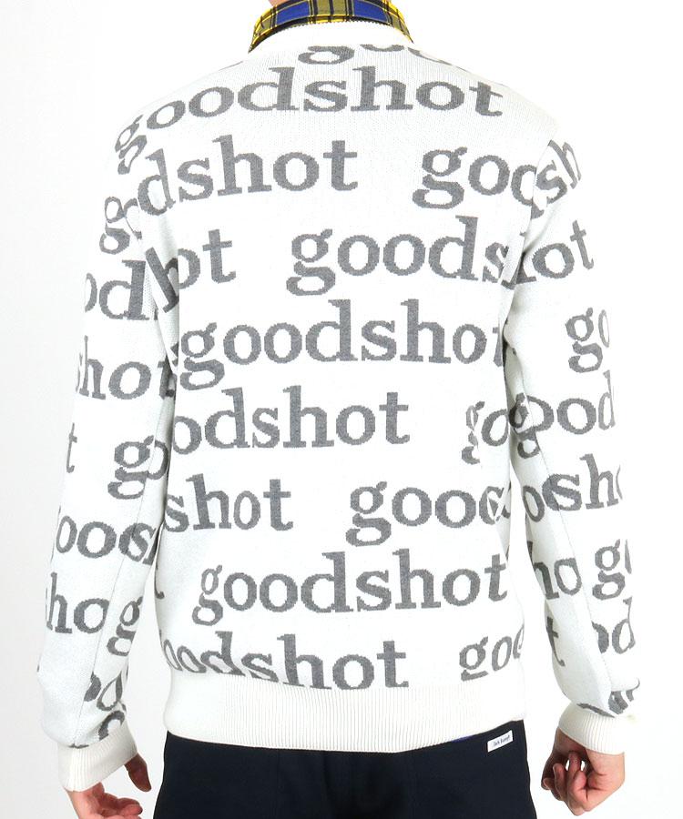 CU goodshotレタリングロゴニットのコーディネート写真
