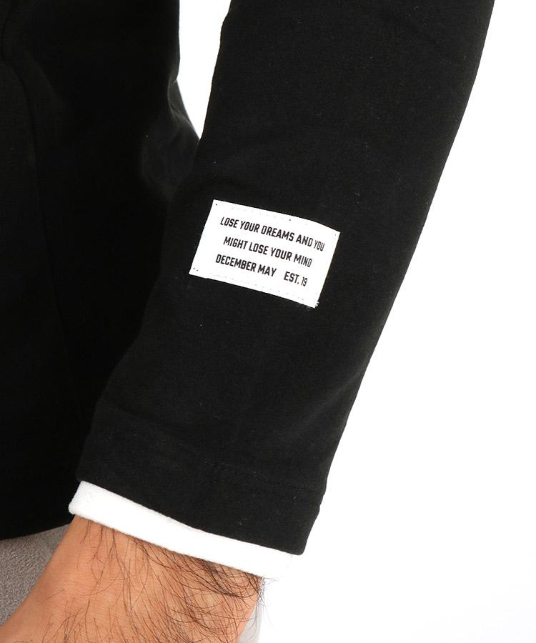 DM ピッグスキン風ハイネックインナーのコーディネート写真