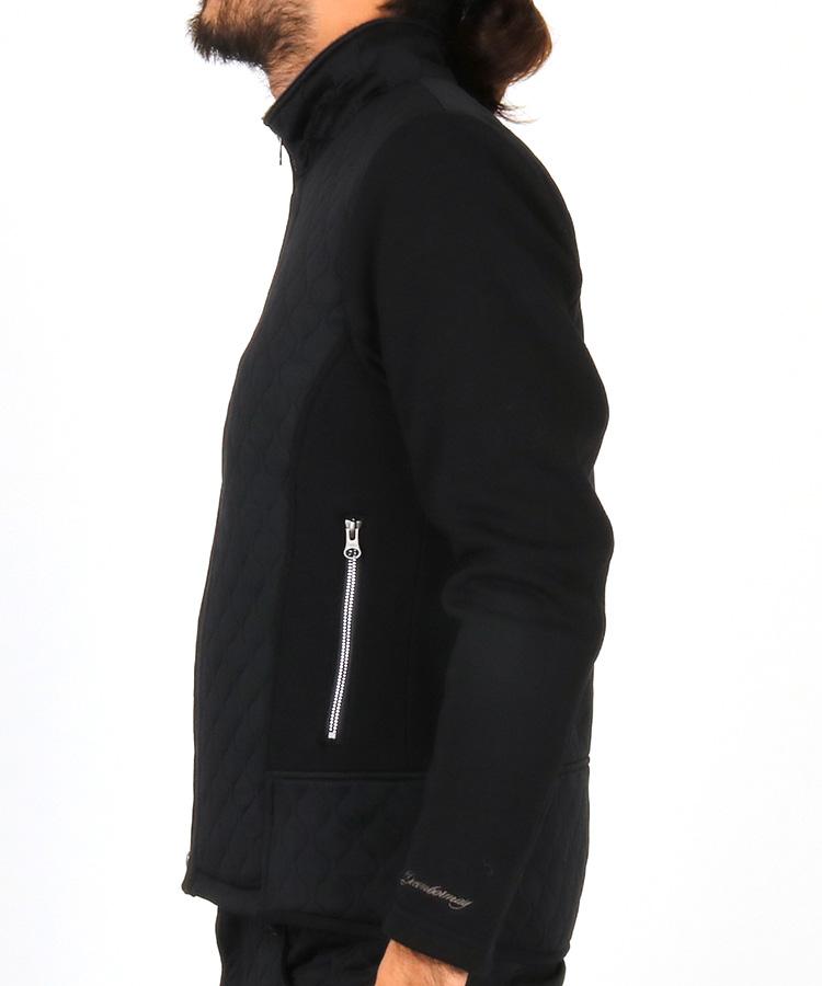 DM ロゴライン◆キルティングジャケットのコーディネート写真