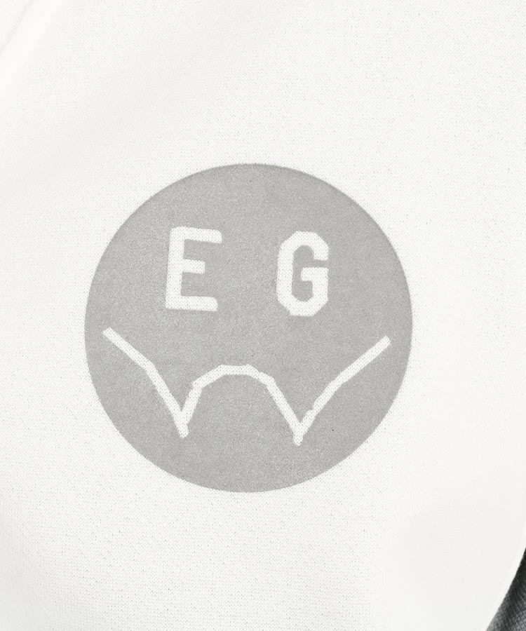 EG 裏起毛ジップスウェットカーディガンのコーディネート写真