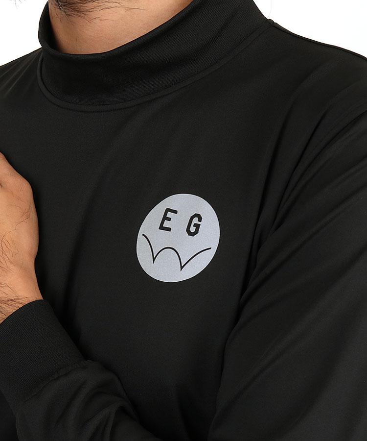 EG ストレッチモックネックのコーディネート写真