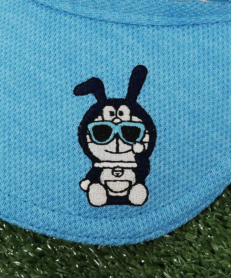 JB サングラスBunnyドラちゃん★Neonカラーバイザーのコーディネート写真