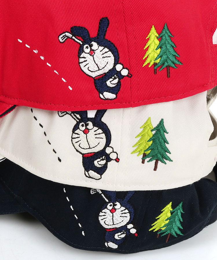 JB BunnyドラちゃんGOLF刺繍♪ツイルキャップのコーディネート写真