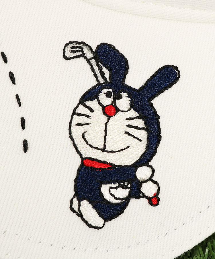 JB BunnyドラちゃんGOLF刺繍♪ツイルバイザーのコーディネート写真
