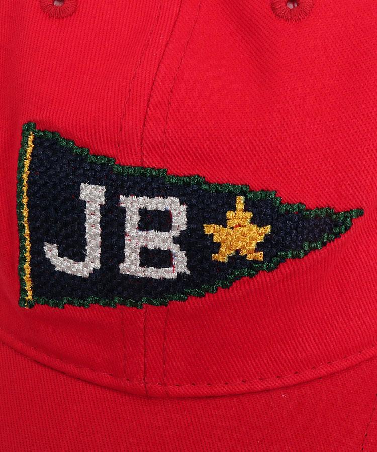 JB クロスステッチロゴ刺繍♪コットンキャップのコーディネート写真