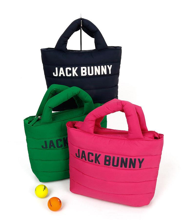 ジャックバニー JB ふっくら軽い♪ロゴPrint入りカートバッグ