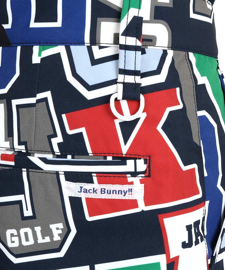 JB クレイジーロゴ◆ハーフパンツのコーディネート写真