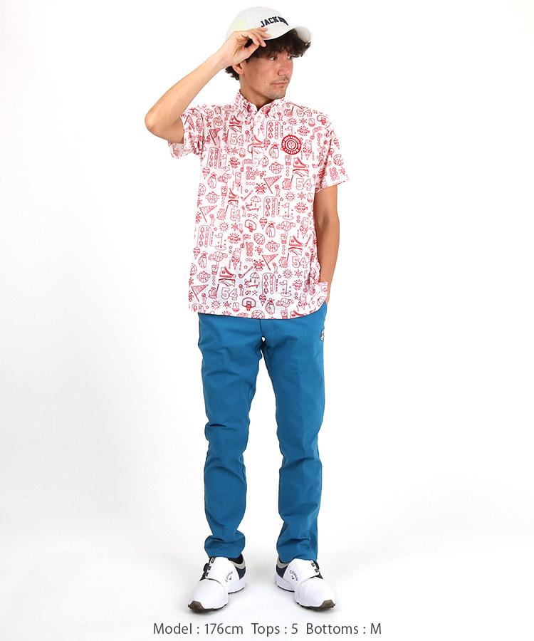 JB SPORTSイラストポロシャツのコーディネート写真