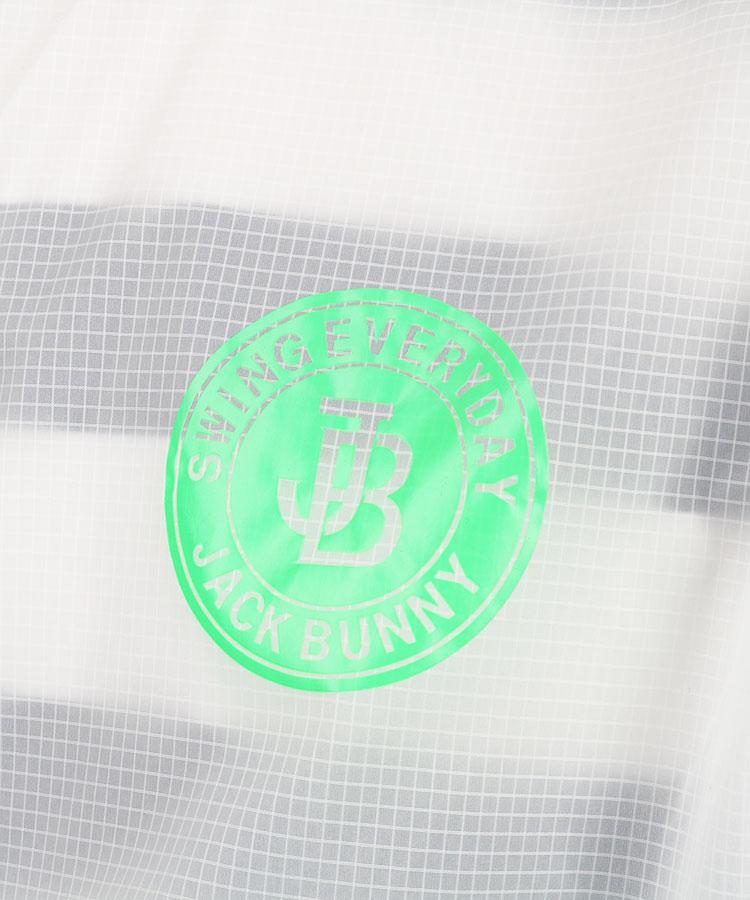 JB ネオンカラー◆クリアジップアップブルゾンのコーディネート写真
