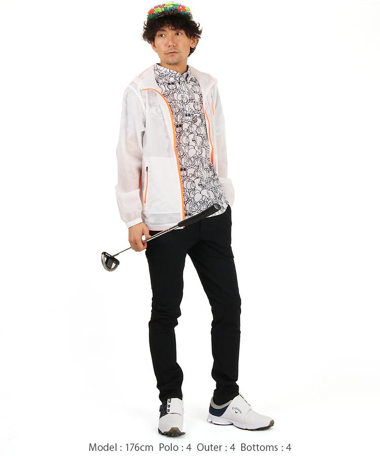 JB 総ドラえもん柄ポロシャツのコーディネート写真