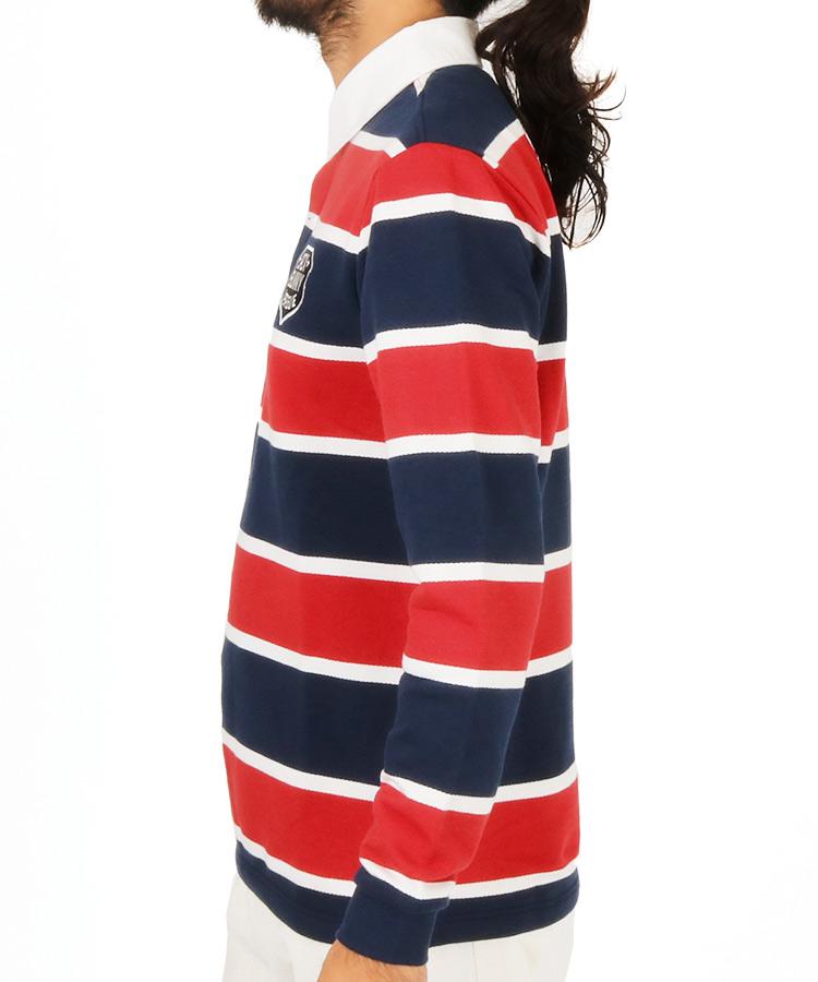 JB [CP対象]エンブレムワッペン◆長袖ポロシャツのコーディネート写真