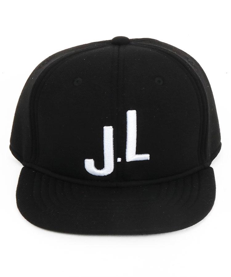 JL JL刺繍♪もっちりスウェット平つばキャップのコーディネート写真