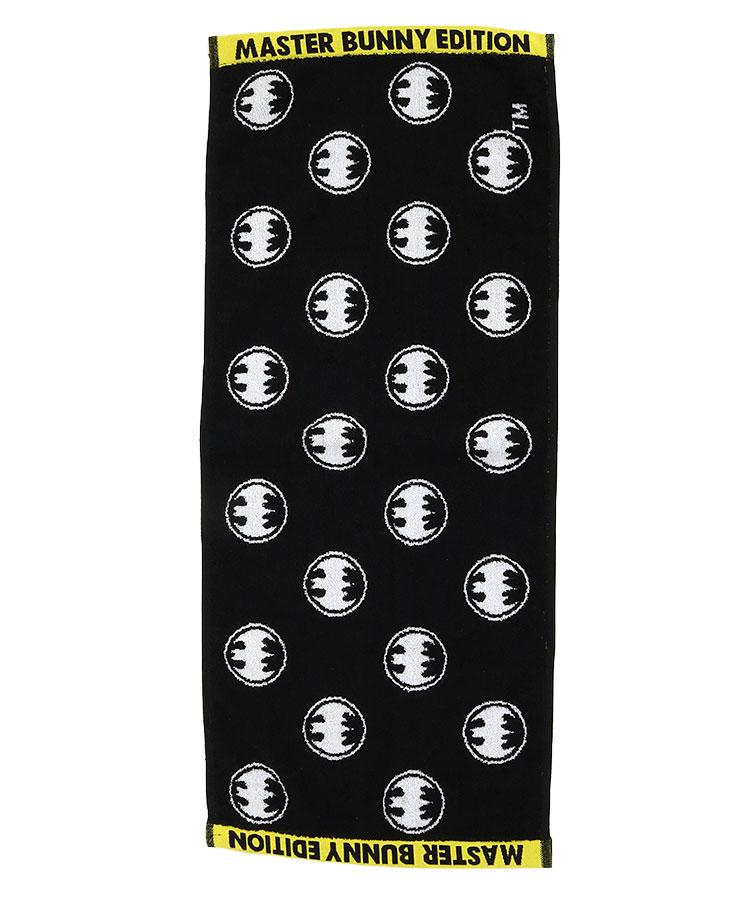 MB BATMAN★ロゴ総柄ロングタオルのコーディネート写真