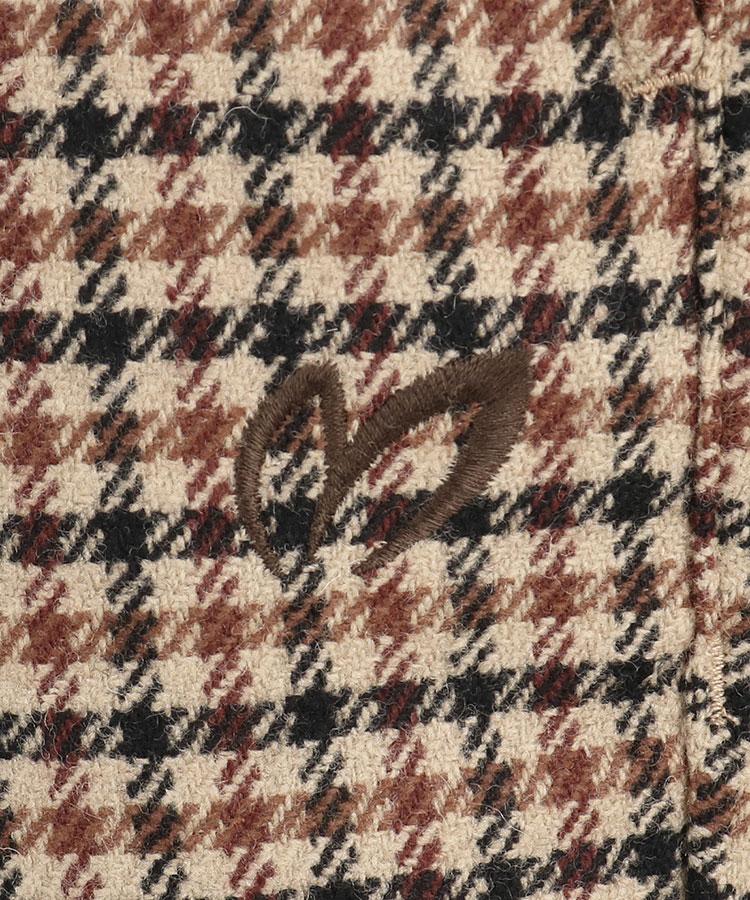 MB フランネルチェックパンツのコーディネート写真