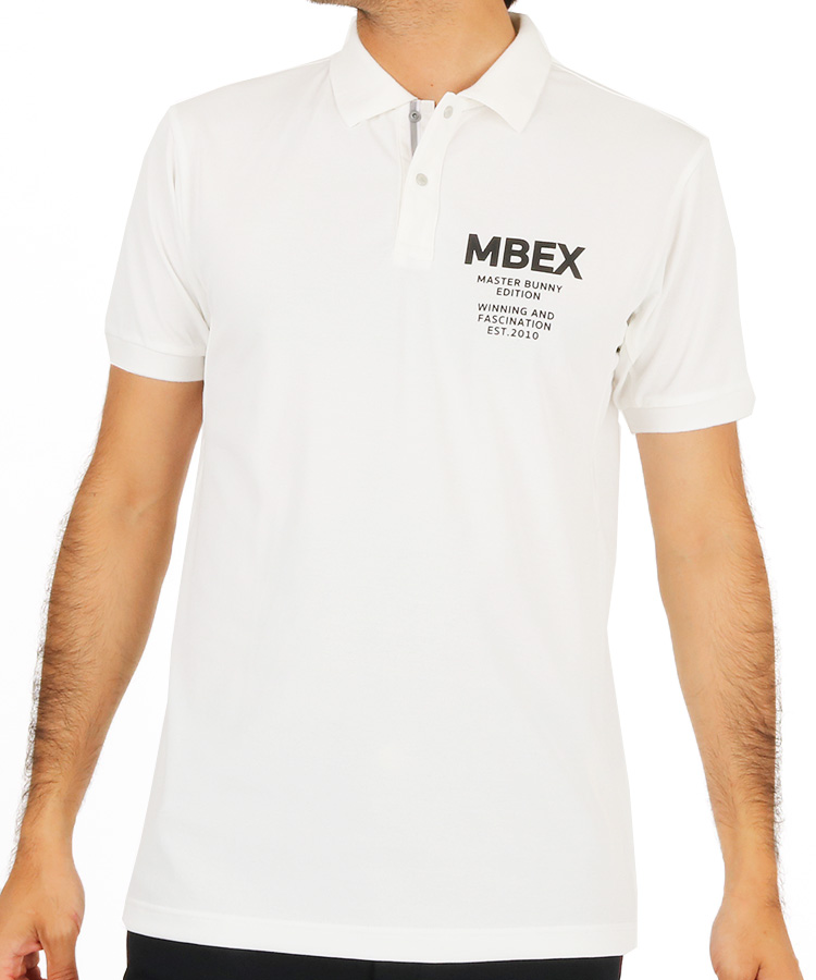 MB ロゴラインテープポロシャツのコーディネート写真