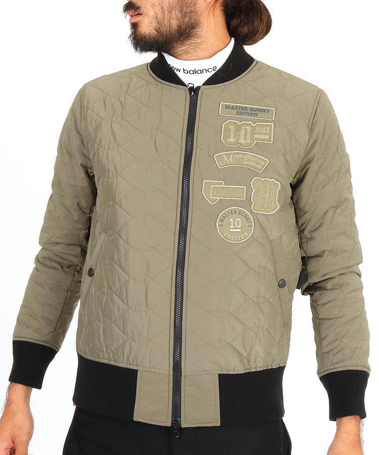 MB キルティングミリタリージャケットのコーディネート写真