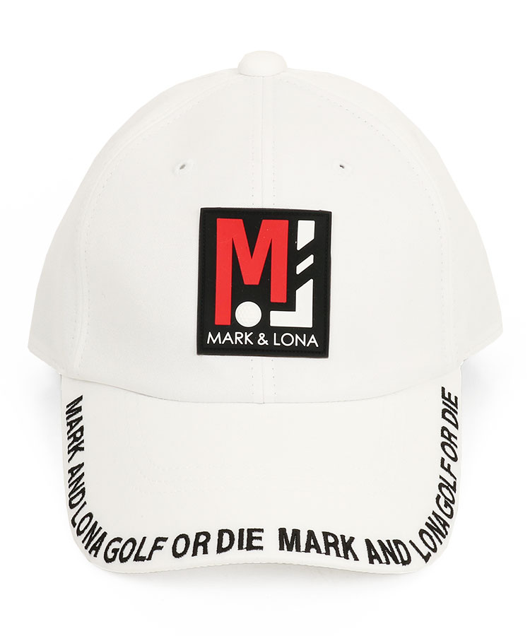 ML 「MJ」Boxロゴ◆刺繍入りブリムキャップのコーディネート写真