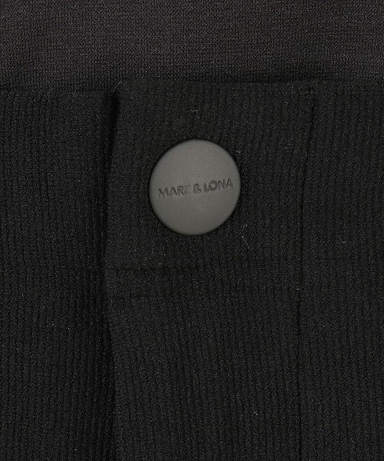 ML ナイロンパッチ裏起毛パンツのコーディネート写真