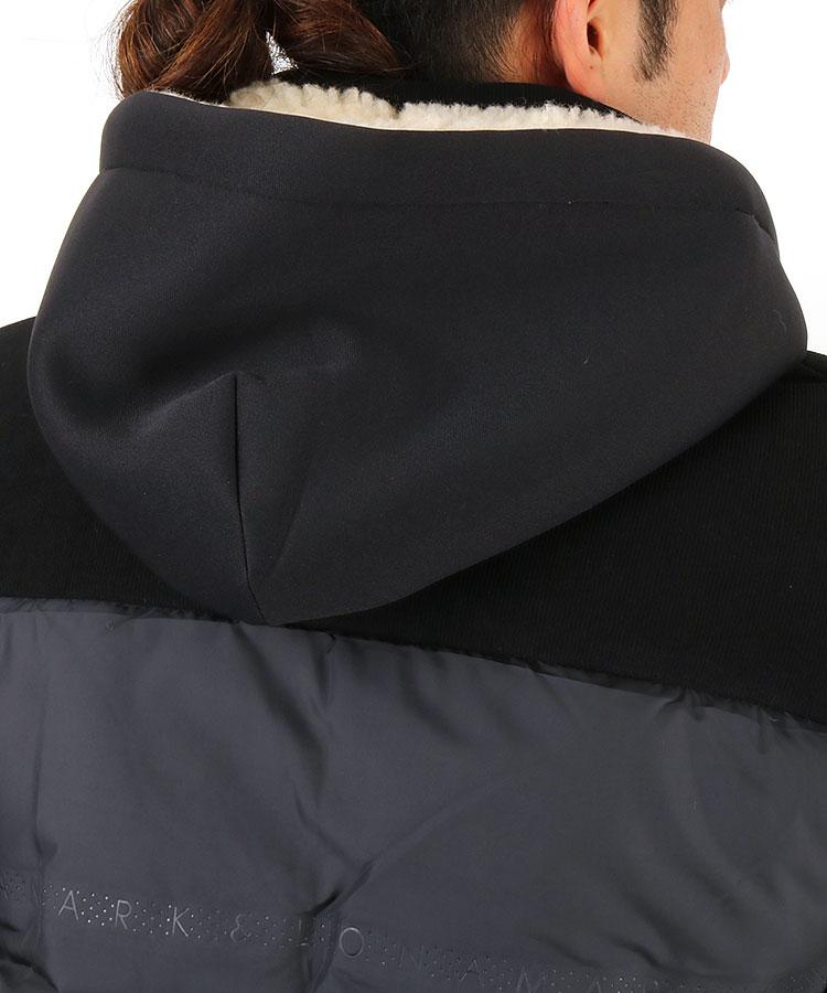 ML 異素材コンビダウンジャケットのコーディネート写真