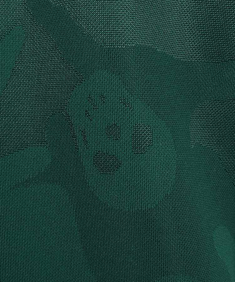 ML Skullスワロフスキー◆カモフラポロシャツのコーディネート写真