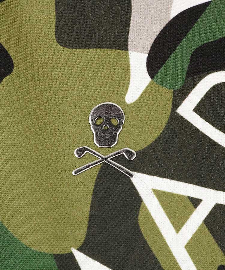 ML カラーカモフラSkull◆ポロシャツのコーディネート写真