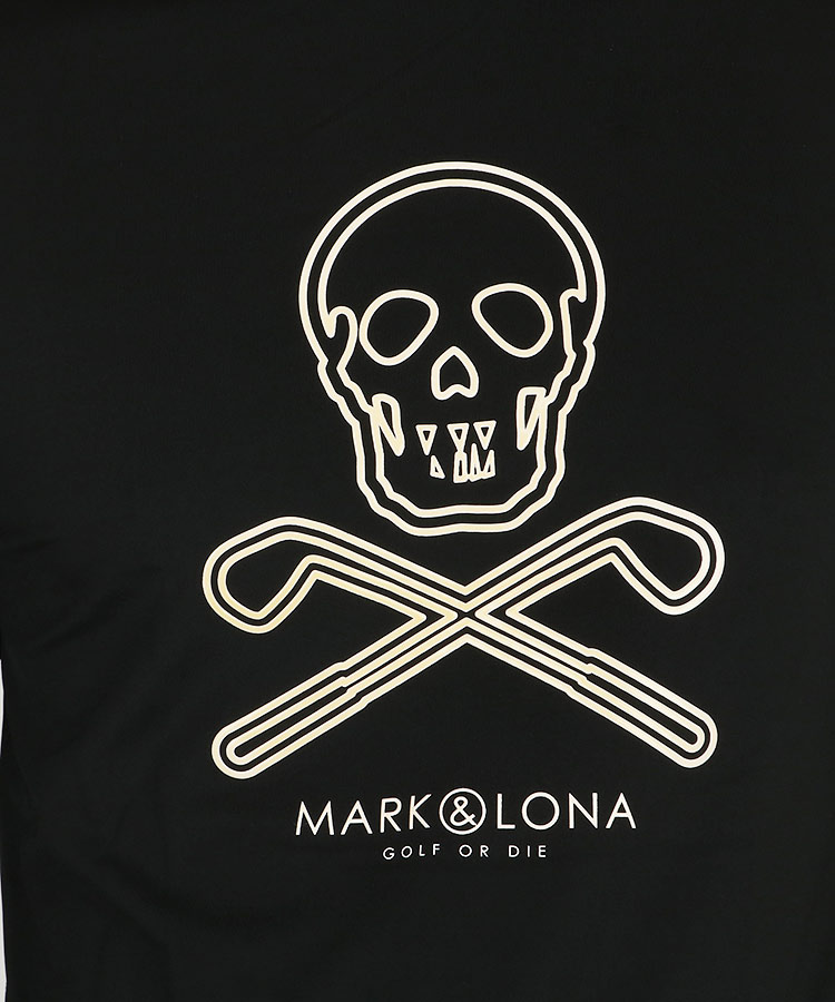 ML ラバーSKULLロゴインナーのコーディネート写真