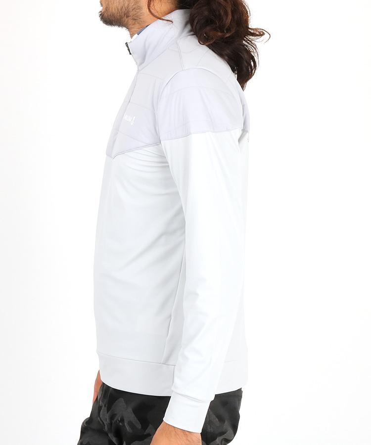 ML ハーフ中綿◆ジッププルオーバーのコーディネート写真