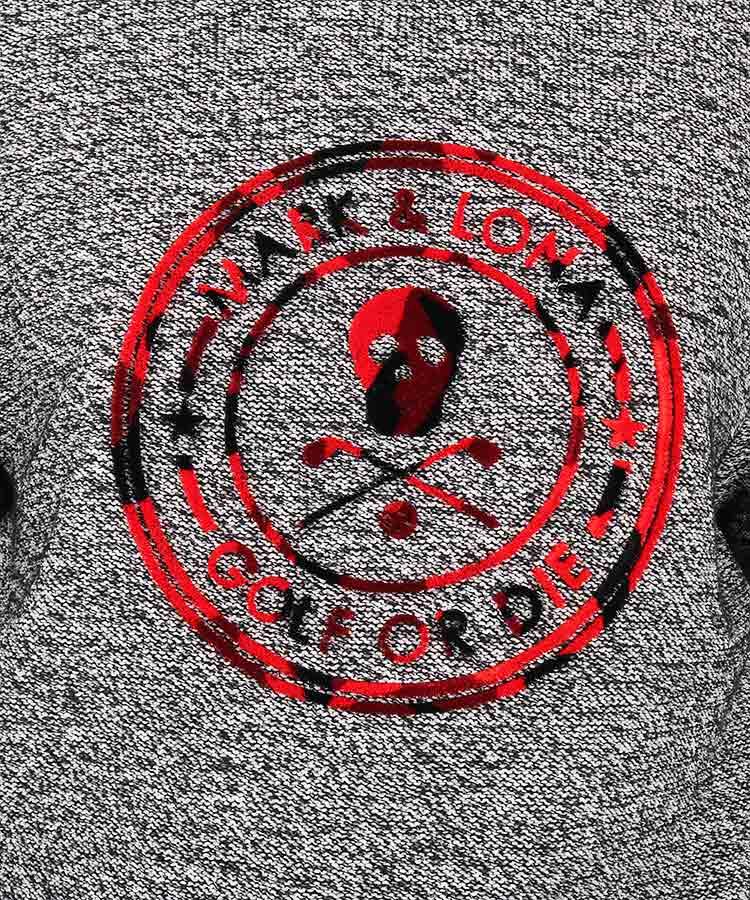 ML ベロア立体ロゴニットのコーディネート写真