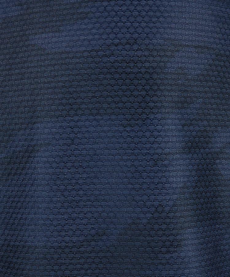 NE タイガーカモフラ◆ハニカムメッシュポロ_ネイビーのコーディネート写真
