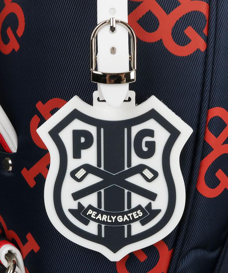 PG 「PG」モノグラム★キャディ(ネイビーレッド)のコーディネート写真