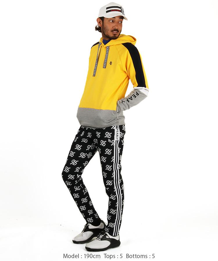 PG モノグラム柄◆ダンボールジョガーパンツのコーディネート写真