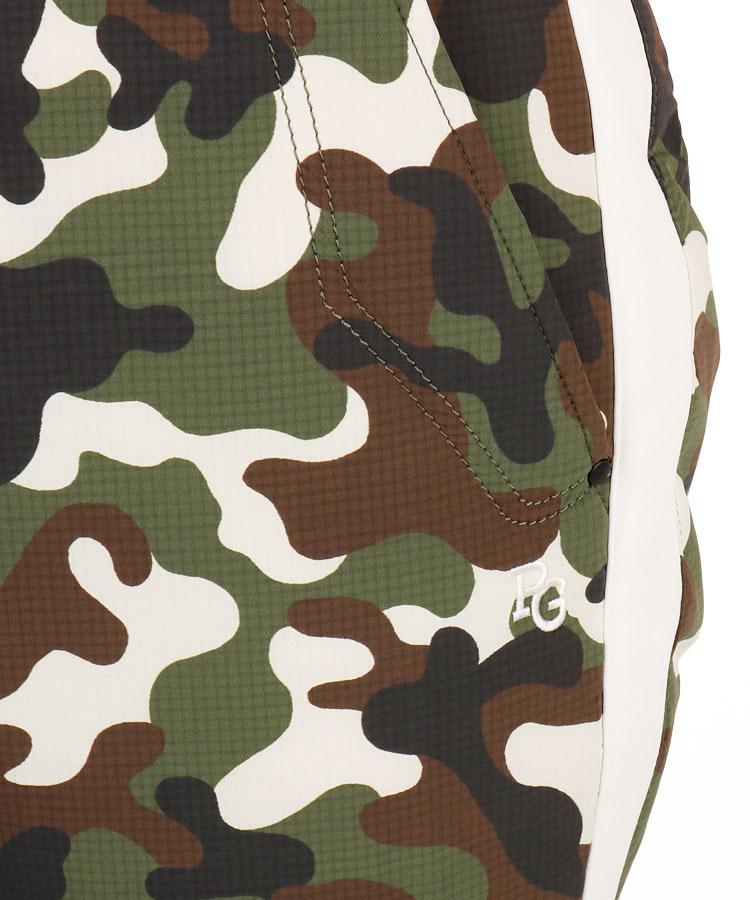 PG 透湿保温カモフラ中綿パンツのコーディネート写真