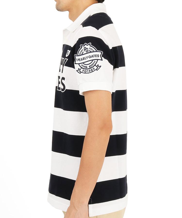 PG ラガーボーダーポロシャツのコーディネート写真