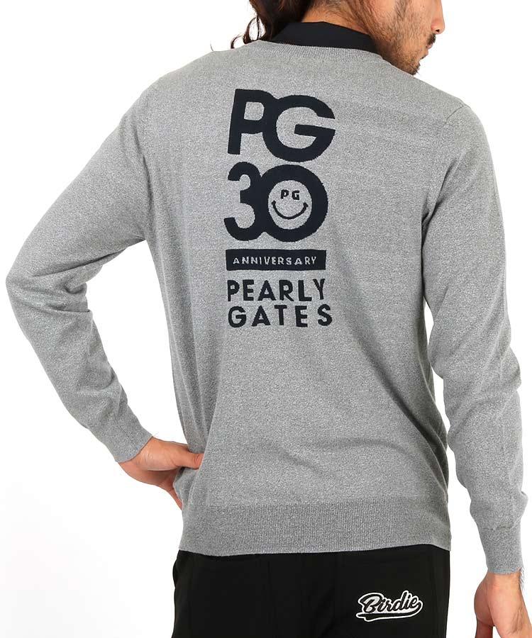 パーリーゲイツ PG PG30thバックロゴニット