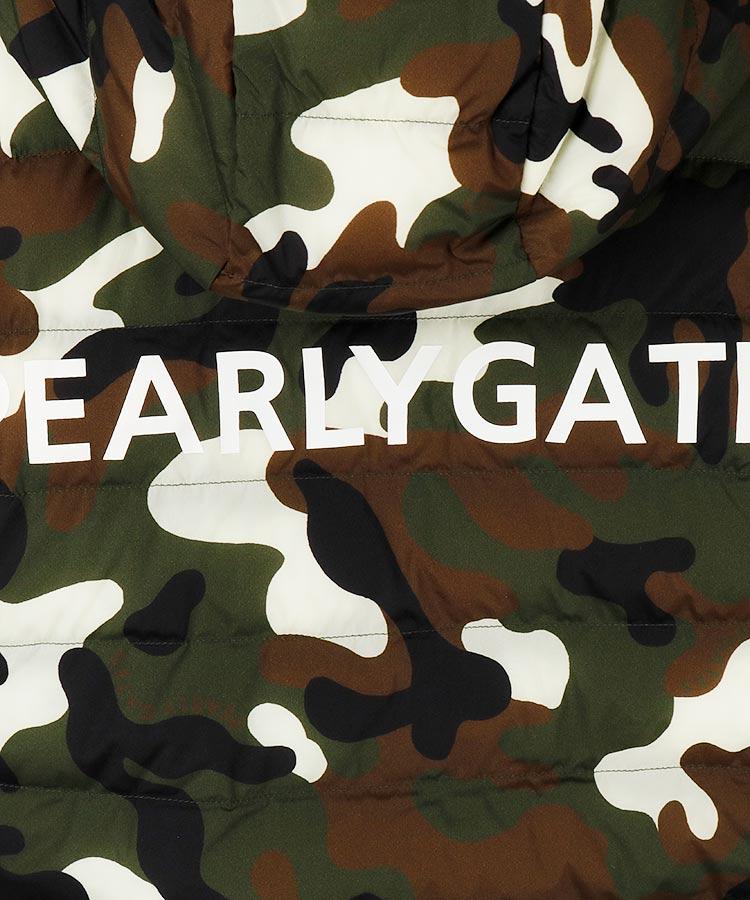 PG 超軽量高機能◆カモフラ中綿パーカーのコーディネート写真