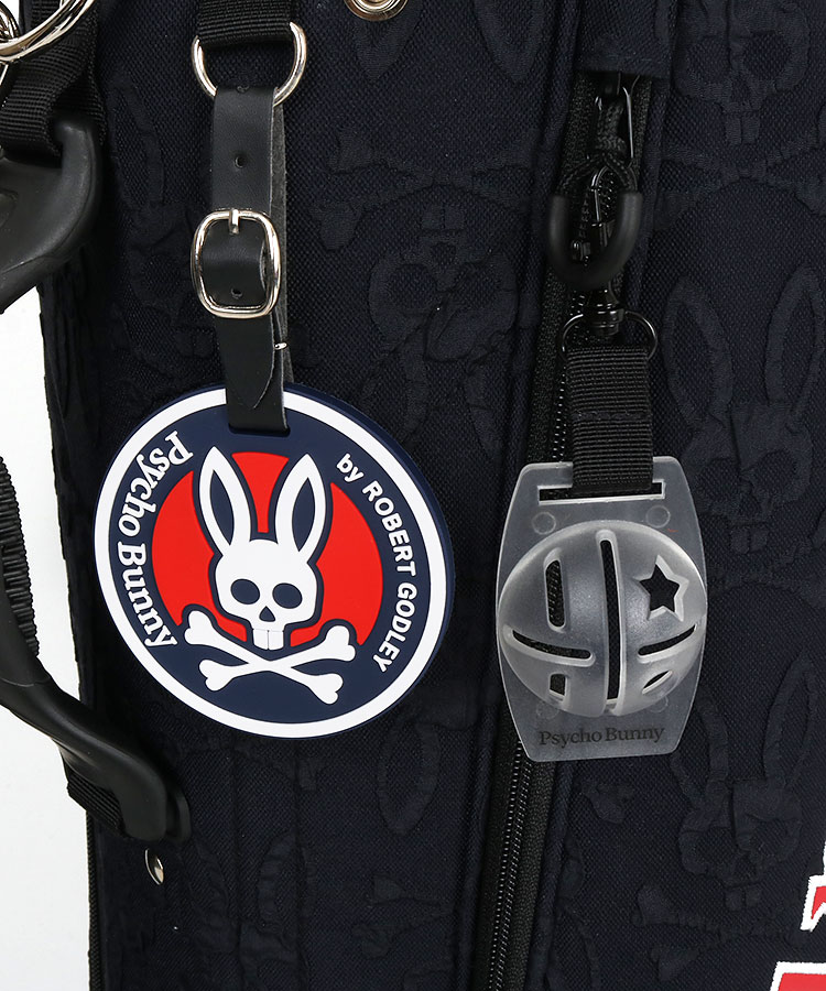PS Bunny総柄エンボス★刺繍入りキャディ(ネイビー)のコーディネート写真