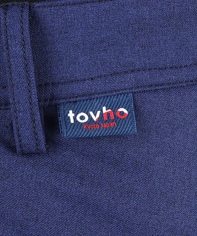 TV サイドライン配色中綿パンツのコーディネート写真