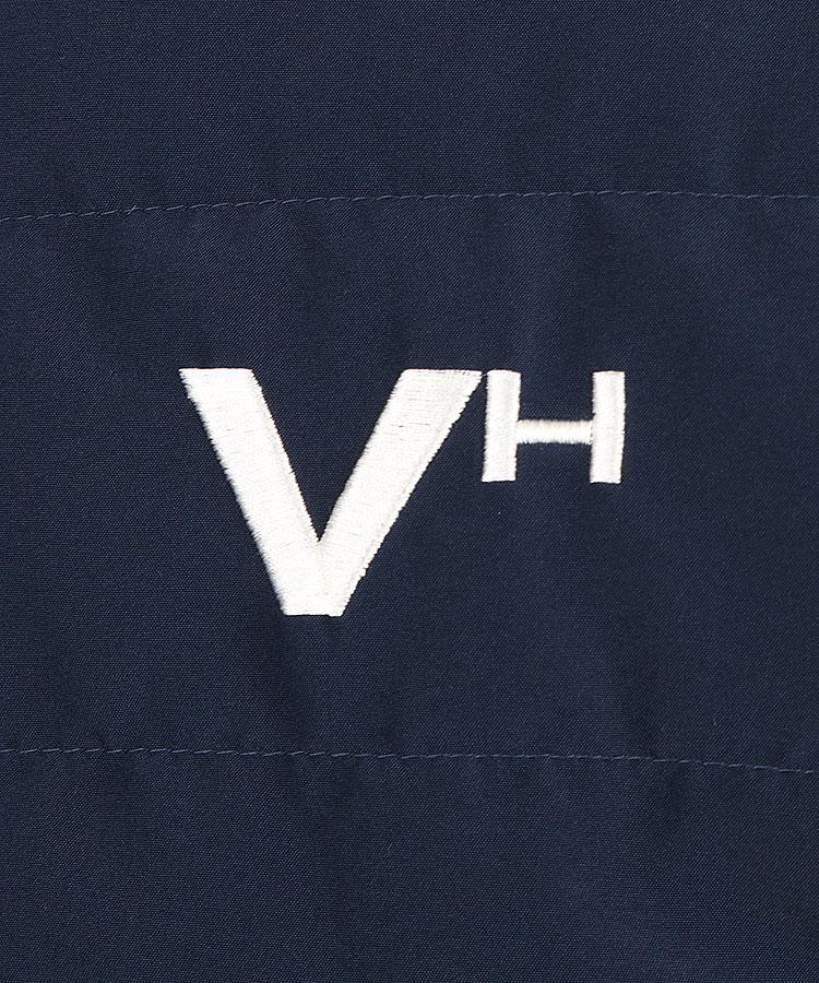 VH 蓄熱中綿リバーシブルブルゾンのコーディネート写真