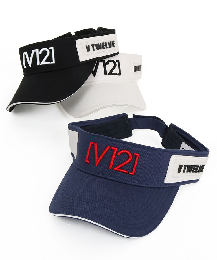 ヴィトゥエルヴ VI [V12]刺繍ツイルバイザー